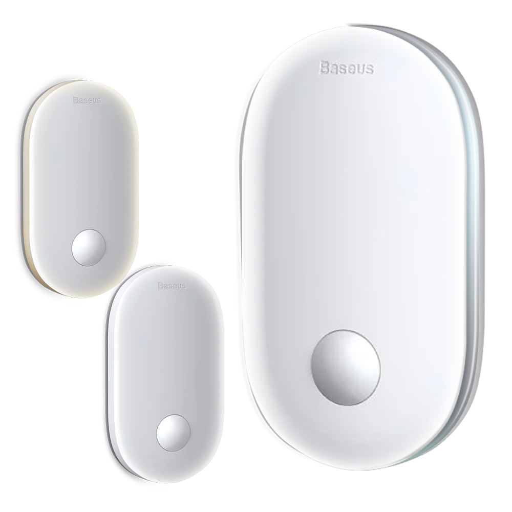 Baseus 倍思 溫暖陽光人體感應入戶燈 /小夜燈 /充電LED小夜燈