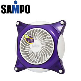 SAMPO聲寶 5吋果漾繽紛小桌扇(SK-DA05(P))