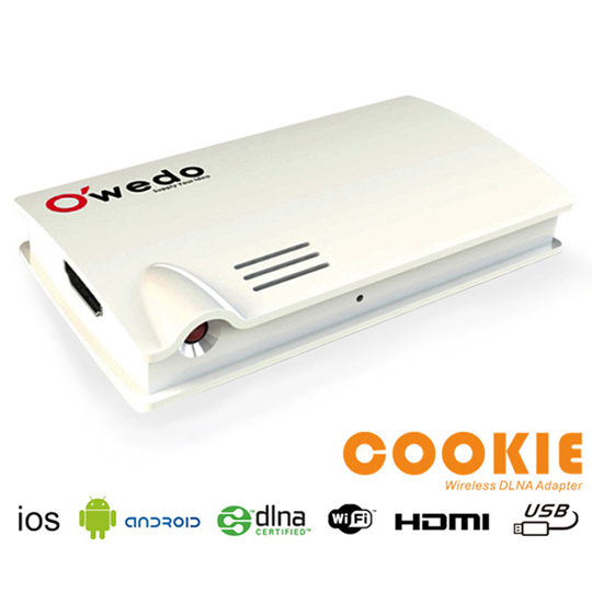 O\'wedo DLNA Wi-Fi 多媒體播放器(WDA-100)送HDMI線
