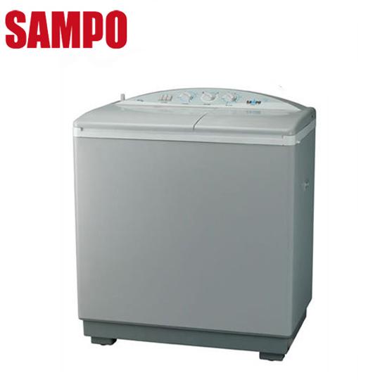 SAMPO声宝 9公斤双槽半自动洗衣机(ES-900T)送安装