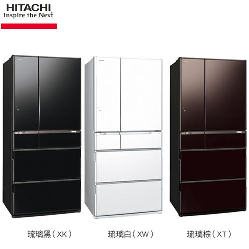 日立 670公升日本原裝變頻六門冰箱(RSF8800E)