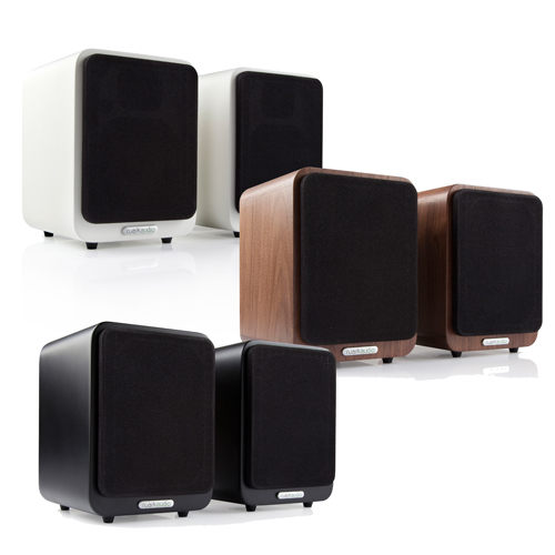 英國Ruark 藍牙低音反射式書架喇叭(MR1)送義式咖啡機