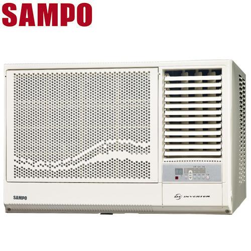 SAMPO聲寶 8-10坪右吹變頻窗型冷氣(AW-PA50D)送安裝+送特福鍋具6件組+好禮4選1