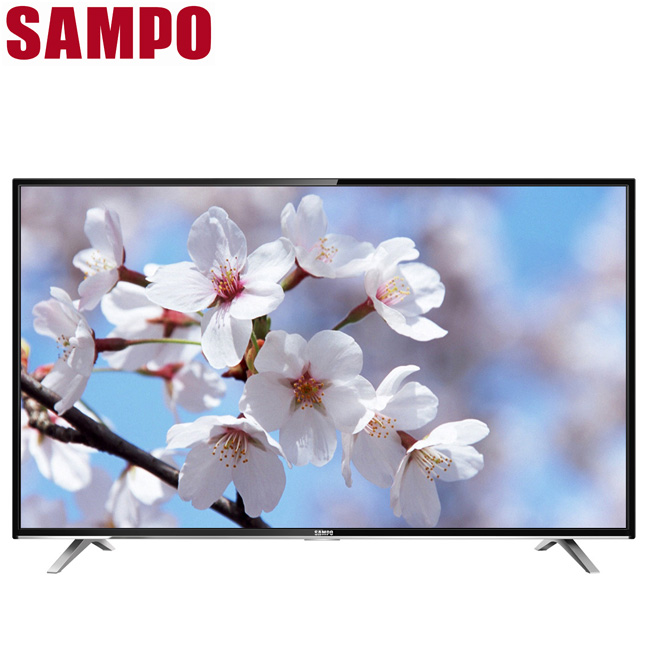 SAMPO声宝 50吋低蓝光护眼液晶显示器+视讯盒(EM-50DT16D)不含安装+送上网接收器