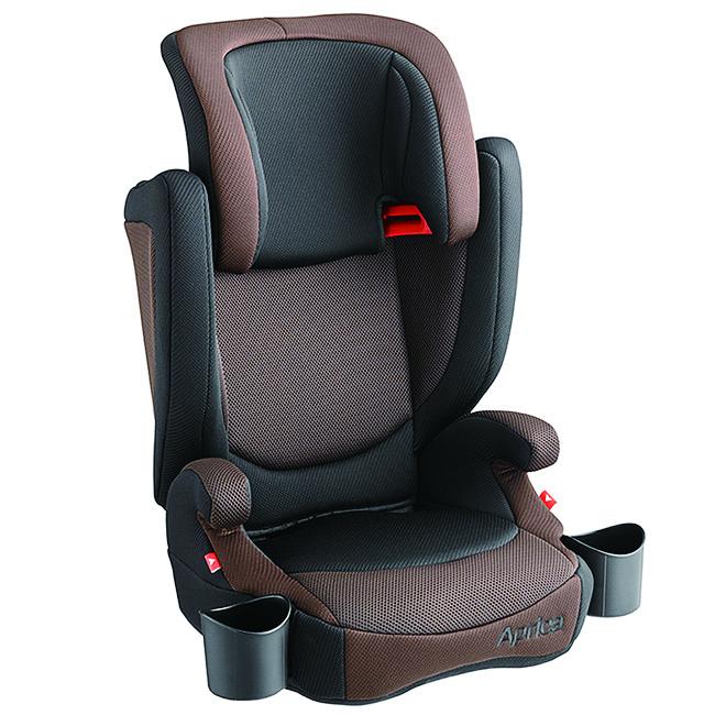 【Aprica 爱普力卡】AirRide 成长型辅助汽车安全座椅 棕横海