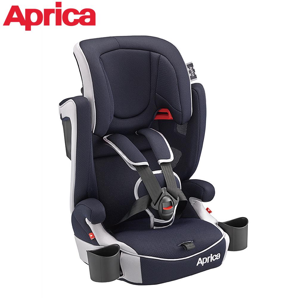 Aprica Air Groove 成长型辅助汽车安全座椅-蓝色飓风