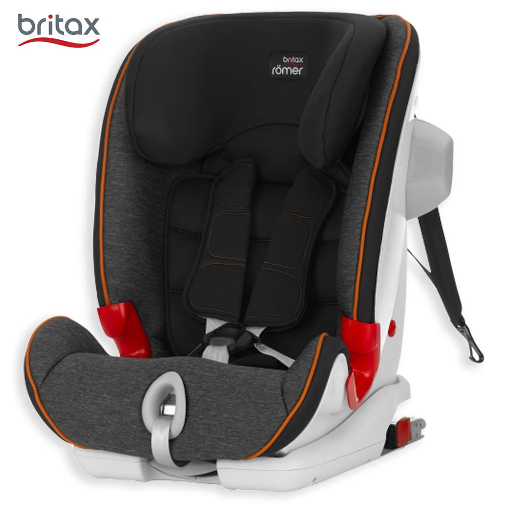 英国 Britax 1-12岁 ISOFIX 成长型汽车安全座椅 (百变旗舰系列-黑)