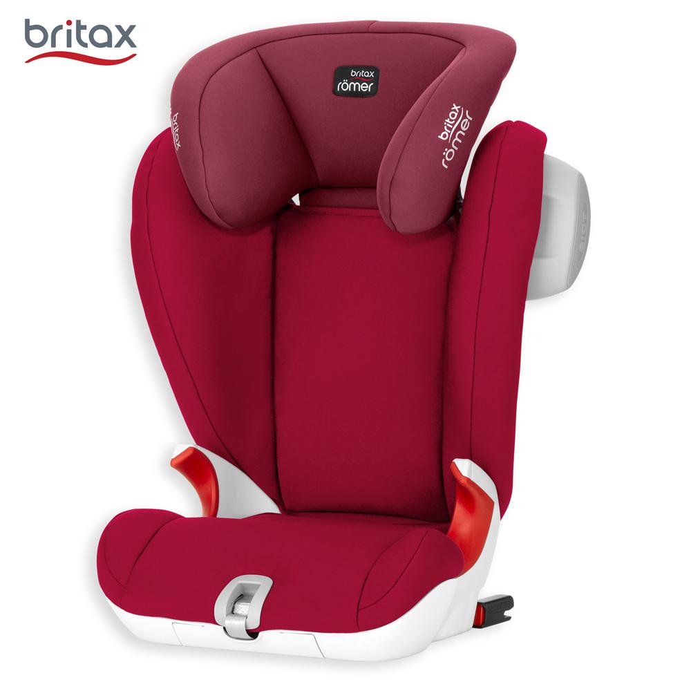 英国 Britax 4-12岁通用成长型汽车安全座椅 (红)