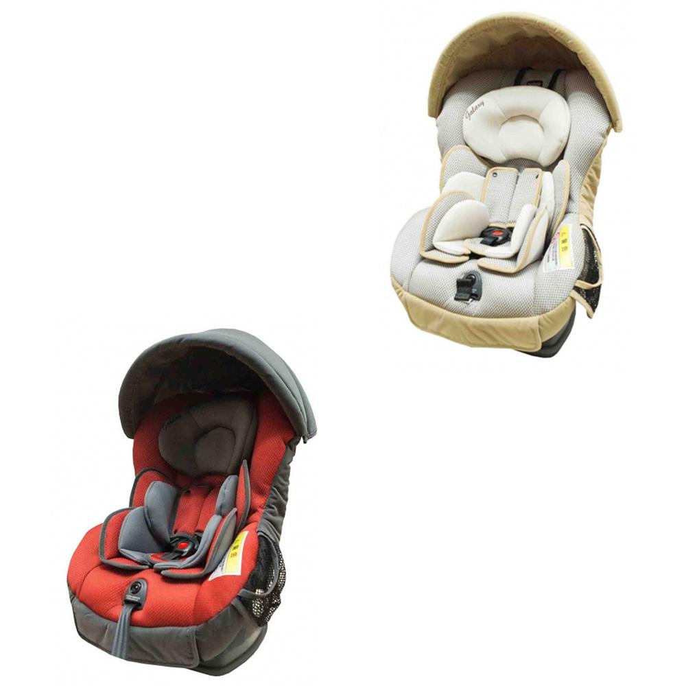 英国 Britax Galaxy II 0~4岁汽车安全座椅-红黑/米灰