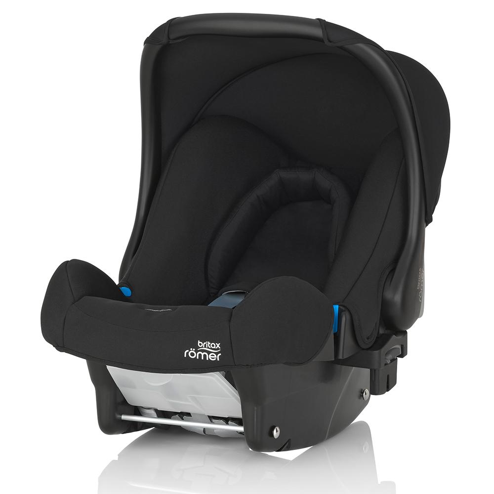 英国 Britax Baby safe 标准版提篮型汽座(BX23606)-黑色