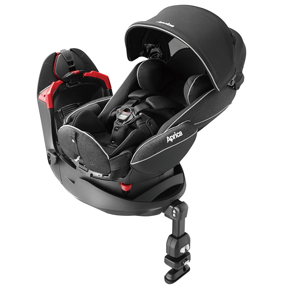 Aprica 平躺型婴幼儿汽车安全卧床椅 Fladea grow DX 旅程系列 月光星空 BK