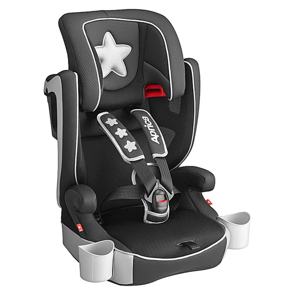 【丽婴房】Aprica爱普力卡 成长型汽车安全座椅 - Air Groove 银彩星