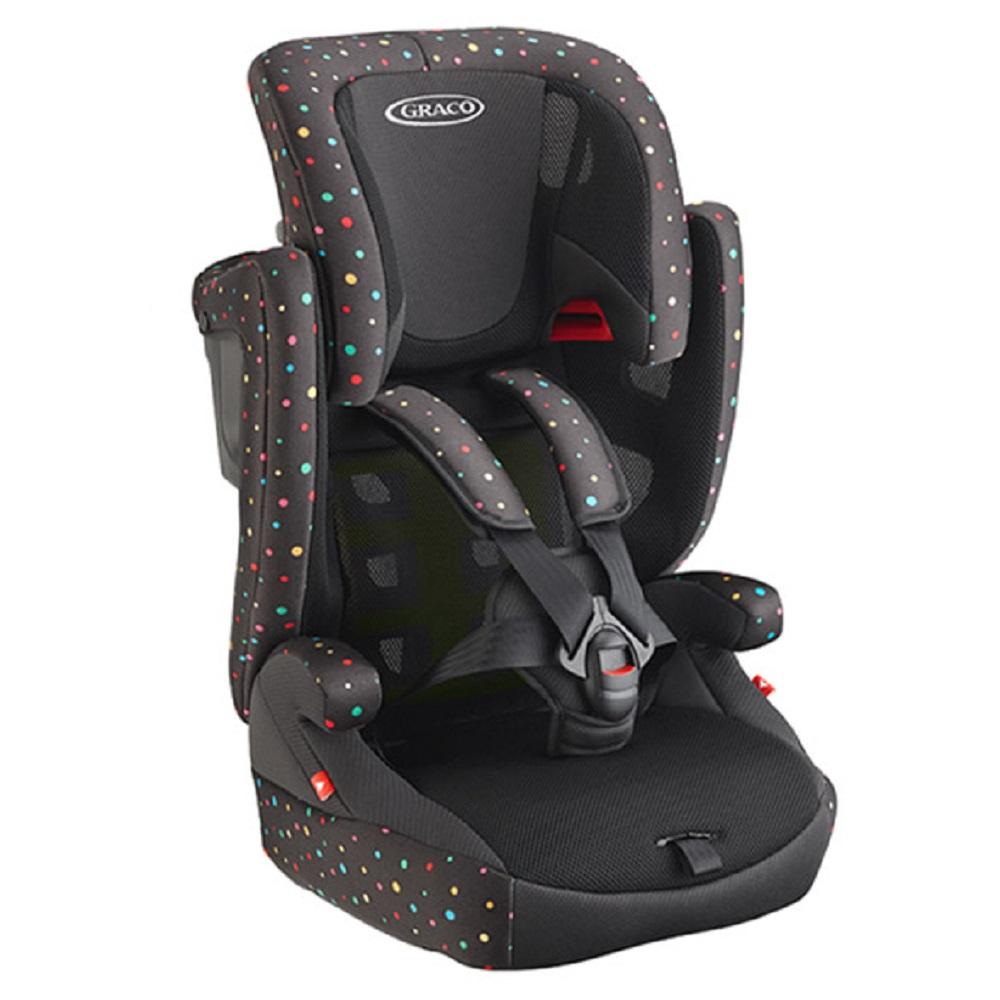 【丽婴房】Graco 婴幼儿成长型辅助汽车安全座椅(AirPop 缤纷彩)