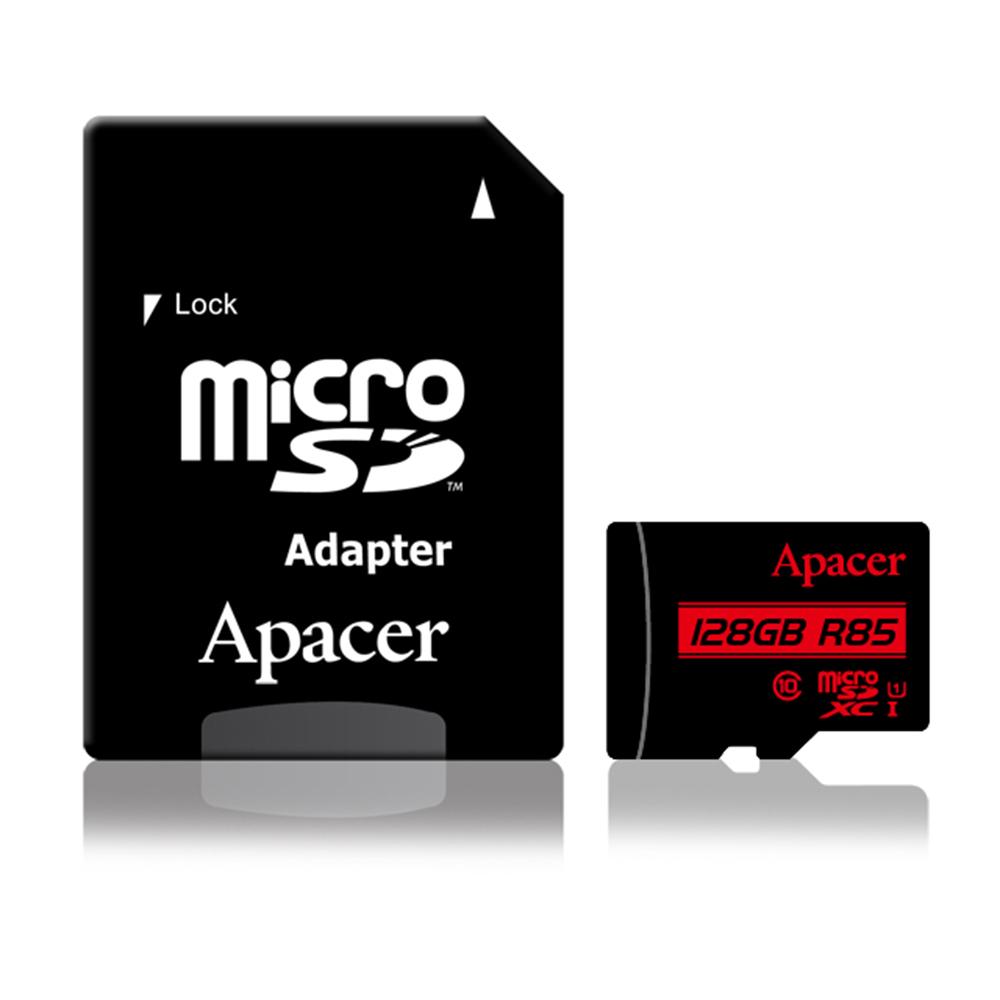 Apacer宇瞻 128GB MicroSDXC UHS-I Class10 記憶卡 85MB/s