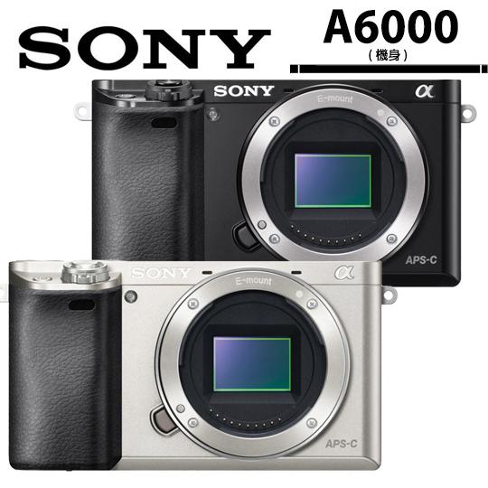 [加碼送好禮]SONY A6000 機身/公司貨