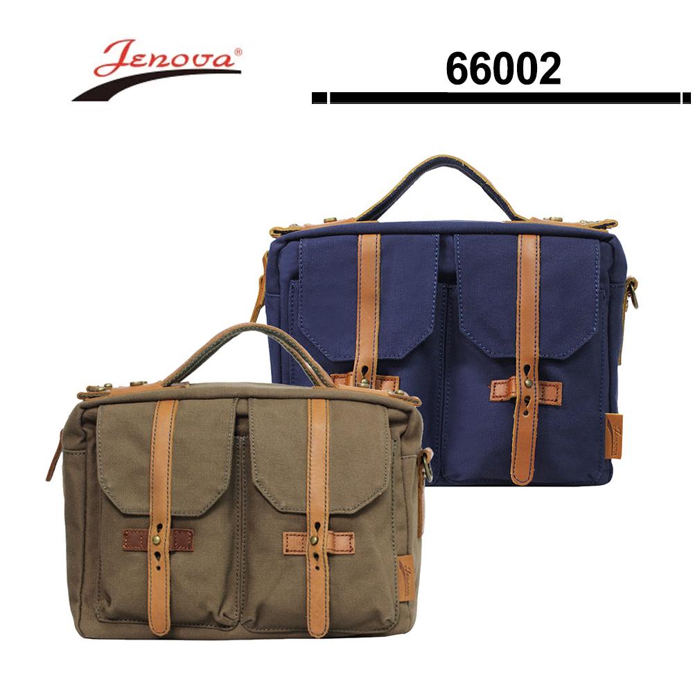 吉尼佛 JENOVA 66002 復古型攝影背包^(小^)