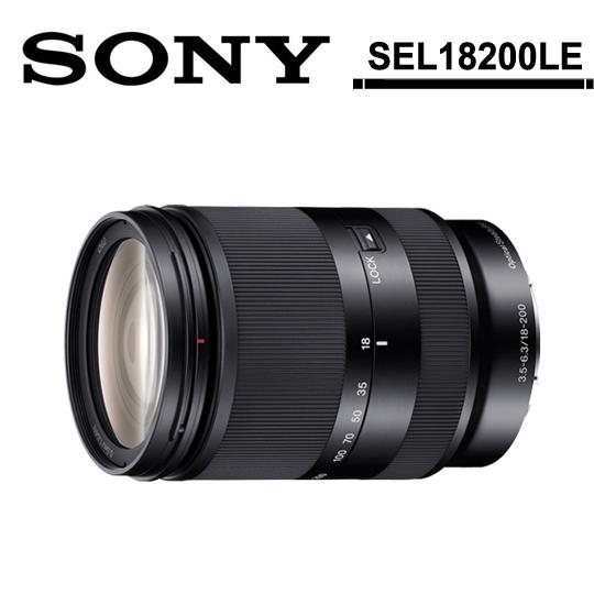 [送保護鏡(62)+拭鏡筆]SONY E 18-200mm F3.5-6.3 OSS LE(SEL18200LE)/平輸