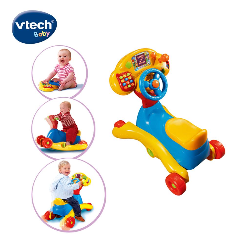 【Vtech】3合1多功能智慧學習車