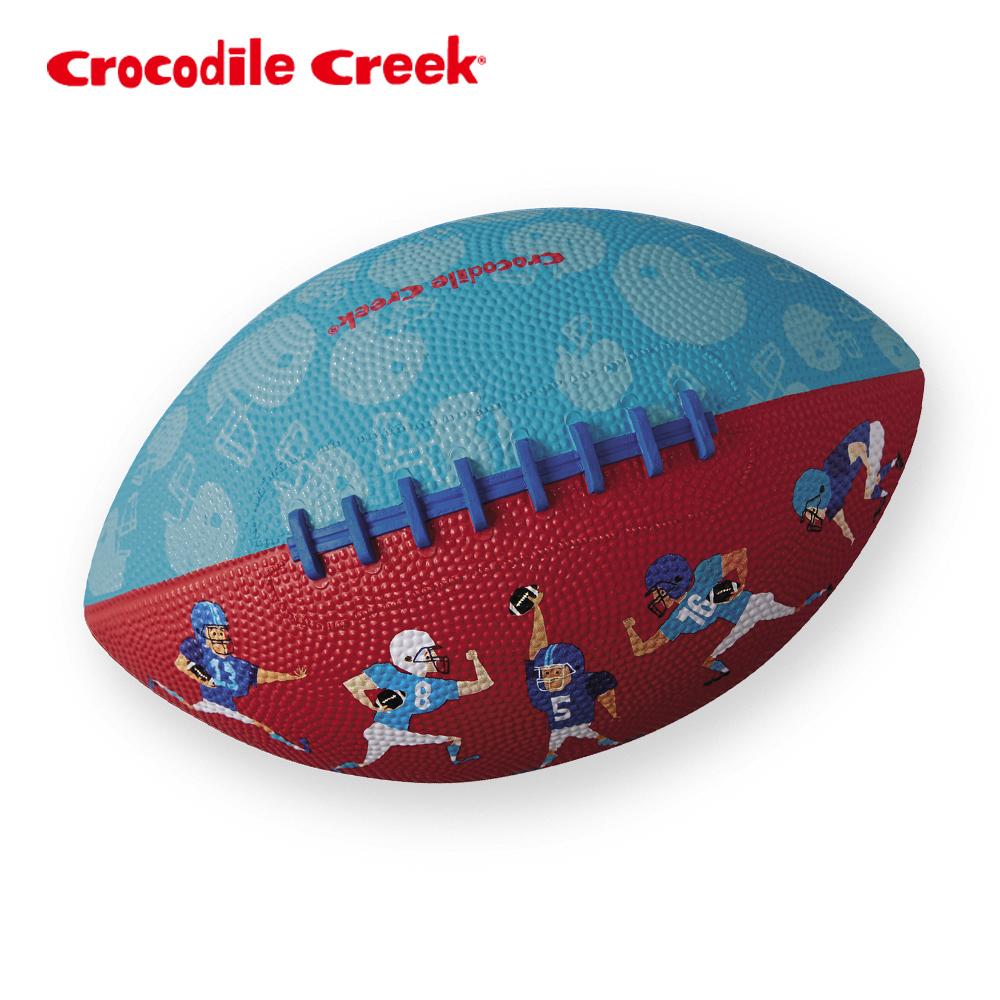 ~美國Crocodile Creek~8吋兒童 遊戲橄欖球~橄欖球