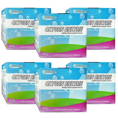 iShine閃亮先生 活氧蛋白酵素萬用清潔劑 洗衣粉800g~6入