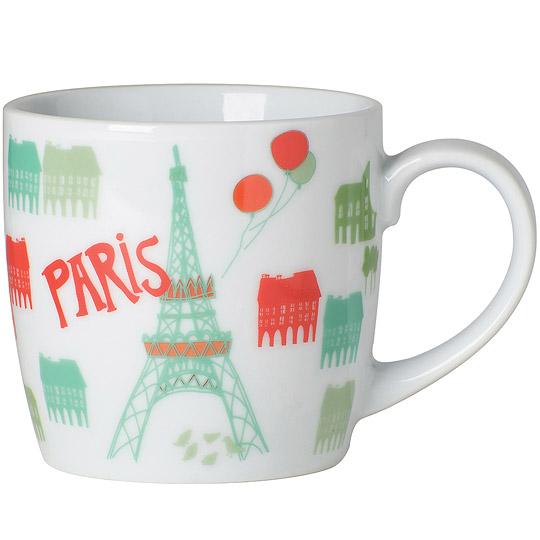 《NOW》單柄馬克杯(彩繪巴黎)