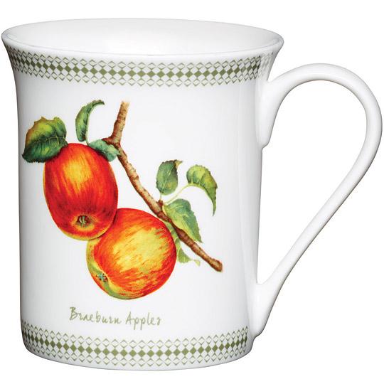 《KitchenCraft》骨瓷馬克杯(蘋果)
