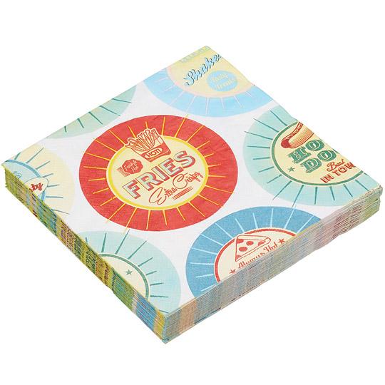 《KitchenCraft》餐巾纸(杯垫)