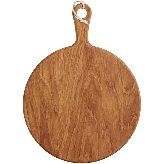 《Master》橡木桨形砧板(圆40.5cm)
