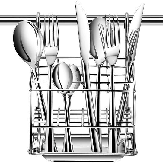 《TESCOMA》Monti掛式餐具瀝水架