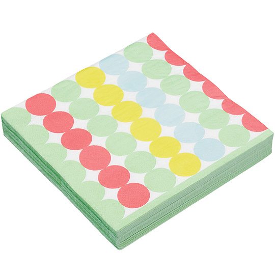 《KitchenCraft》餐巾纸20入(彩泡)