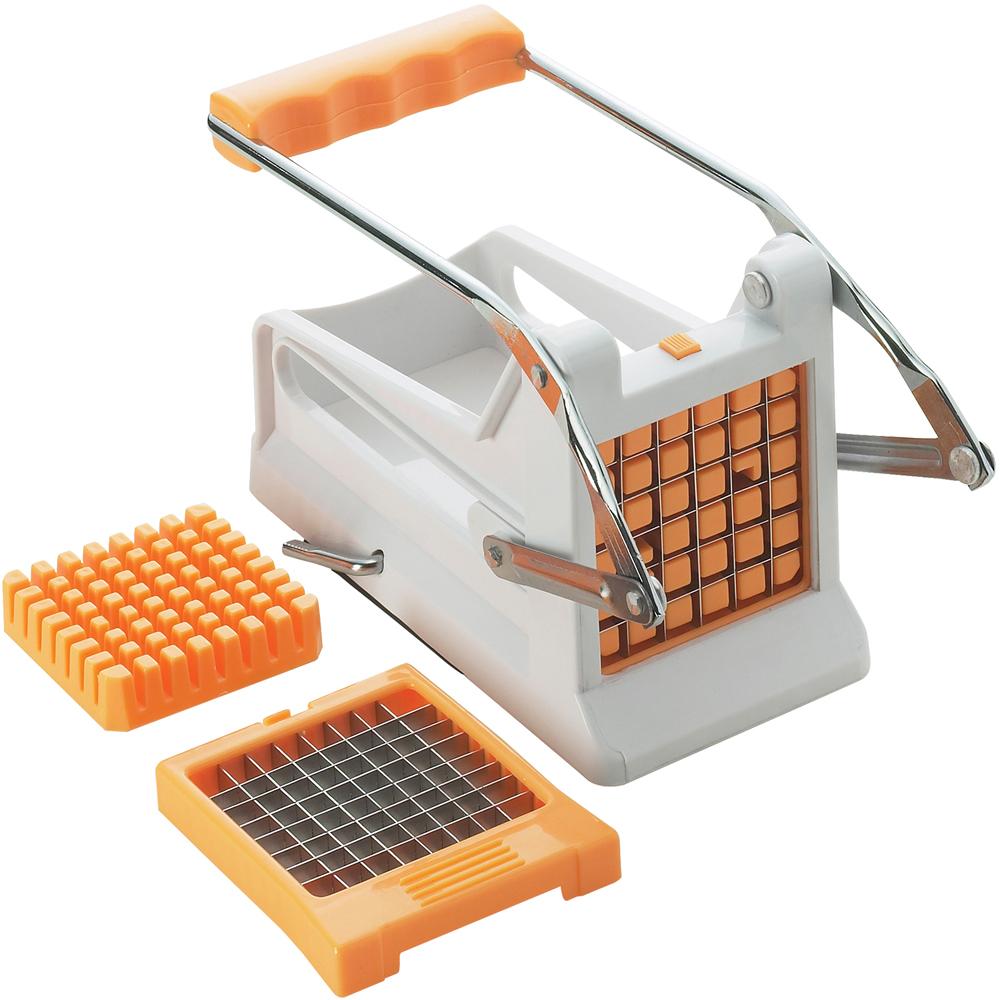 《EXCELSA》2in1推式薯条切条器(橘)