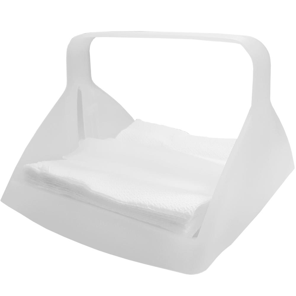 《EXCELSA》提式餐巾纸架(白)