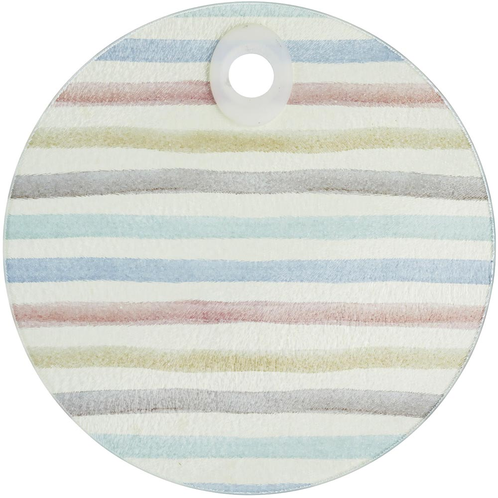 《KitchenCraft》圆砧板隔热垫(复古条纹)