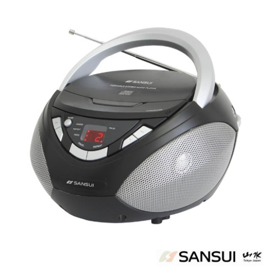 (送音樂CD)SANSUI山水手提CD音響(SB-80N)