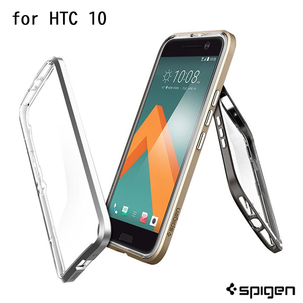 Spigen HTC 10 Neo Hybrid Crystal 透明背蓋邊框手機保護殼