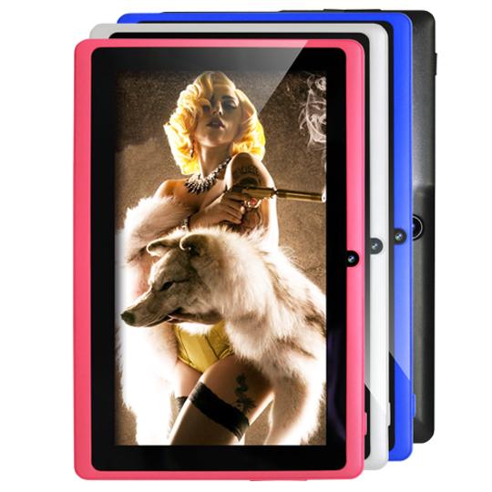 【Super Pad】 B1-713進階版7吋4核心平板電腦8GB-贈皮套/觸控筆/保護貼『送自拍神