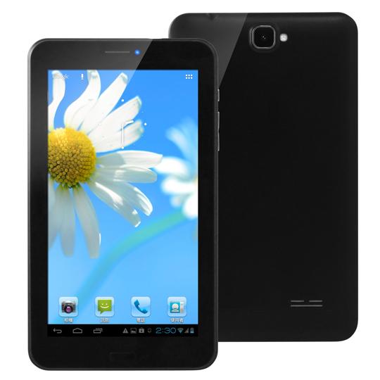 【Super pad】A1-768 7吋聯發科四核3G通話平板 8G(買就送『藍牙自拍神器』)