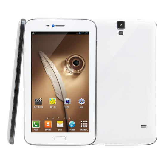 SuperPad極光精靈 6.2吋8G 聯發科四核心1.3GHz/雙卡雙待/500萬/安卓4.2(買