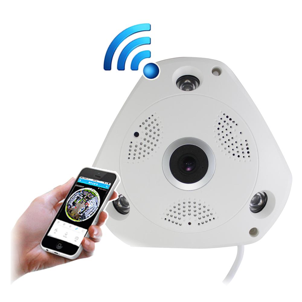 ~IS愛思~IR~360V1 VR全景960P紅外線WiFi監控攝影機