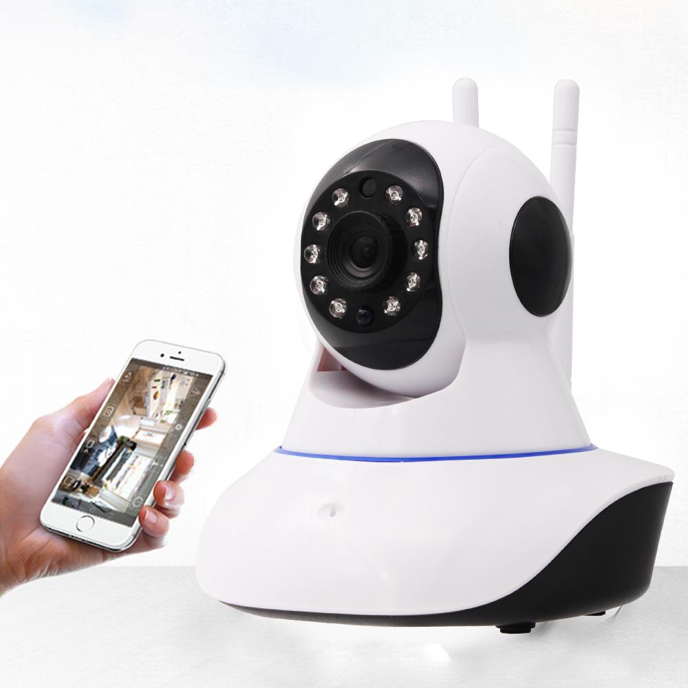 ~視訊王~雙天線旋轉鏡頭紅外線夜視WiFi監控攝影機