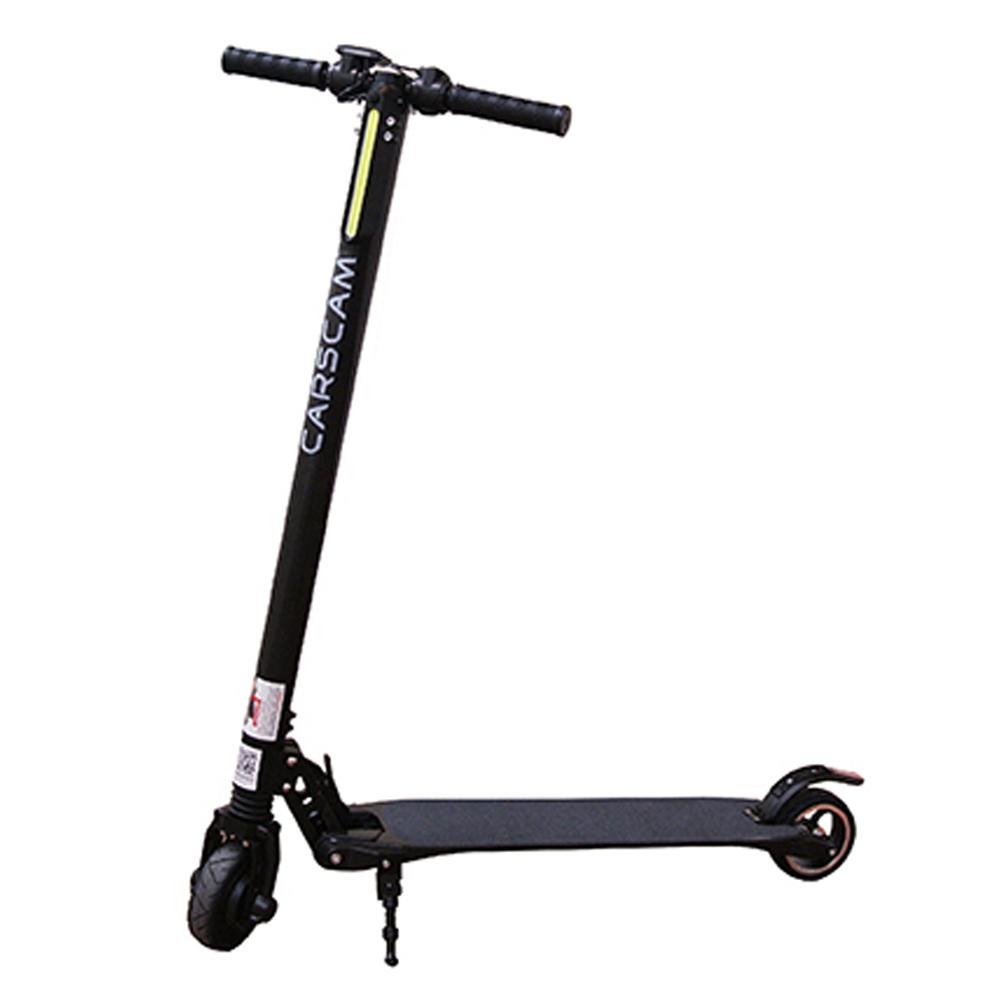 【CARSCAM行車王】F8 雙避震碳纖維8.8Ah折疊式電動滑板車