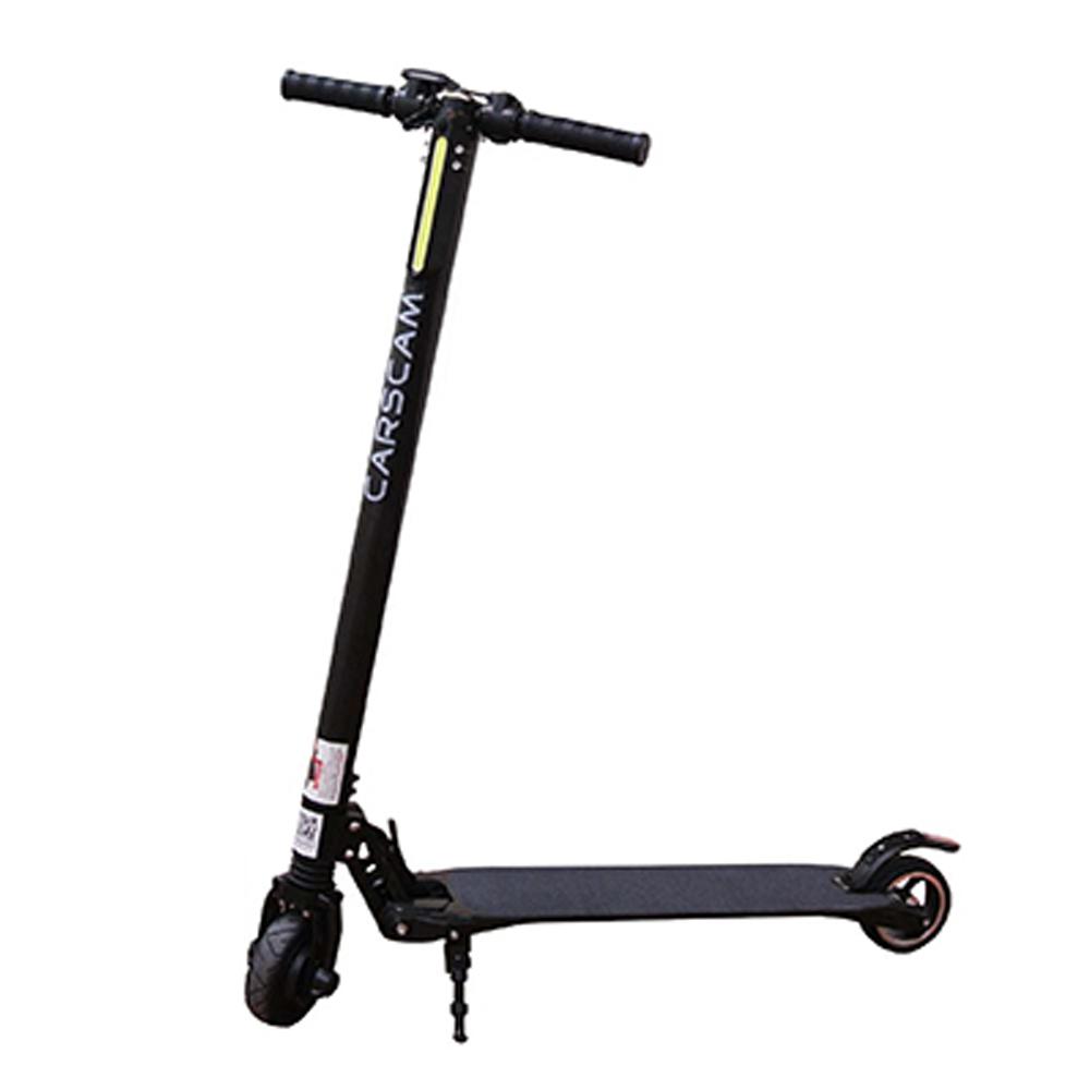 【CARSCAM行車王】F7 雙避震碳纖維折疊式電動滑板車