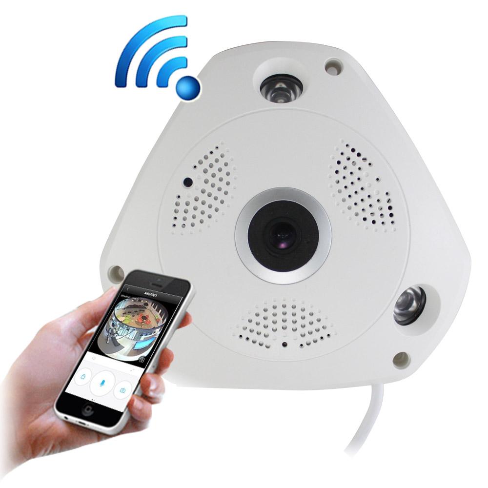 【IS愛思】IR-3602K VR全景高畫質紅外線網路監控攝影機