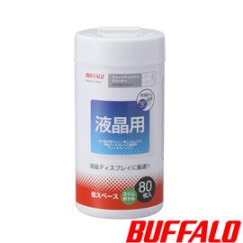 Buffalo 液晶螢幕專用拭淨紙(80入)