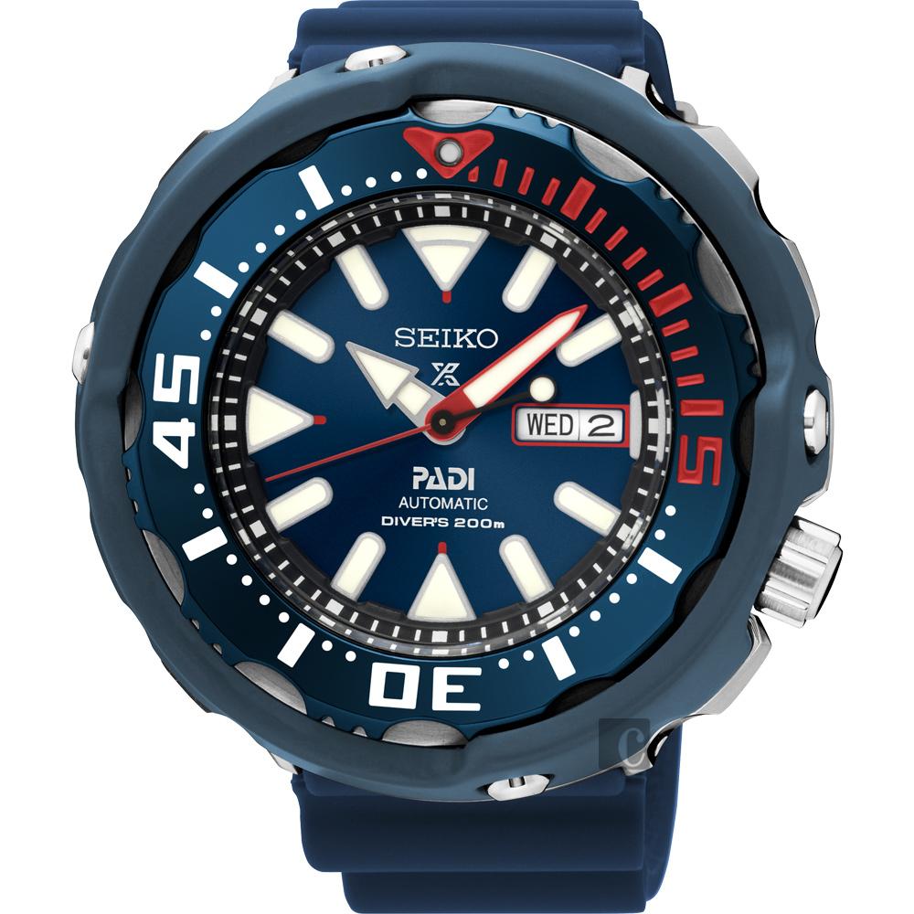 SEIKO Prospex PADI 联名潜水限量机械腕表-蓝 4R36-05V0B(SRPA83J1)