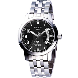 TISSOT PRC200 經典都會自動石英機芯腕錶 T0144211105700