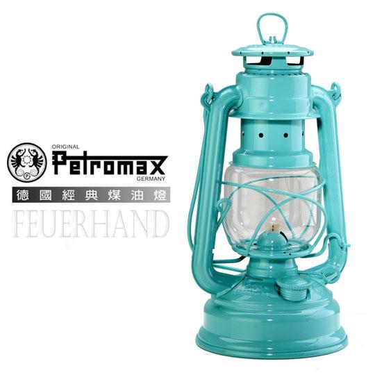 【德國 Petromax】限量版 Feuerhand 火手 Baby Special 276 古典煤油燈 非氣化燈/瓦斯燈 蒂芬尼藍