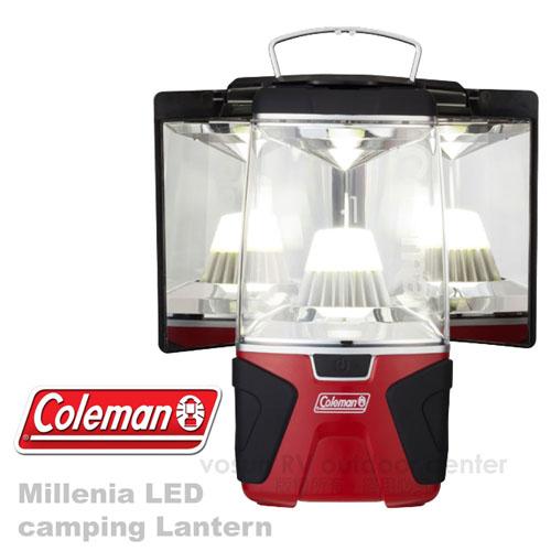 【美國 Coleman】經典限量 千禧年LED反射板露營燈(1000流明 可當主燈桌燈)天幕帳蓬照明燈 CM-22276