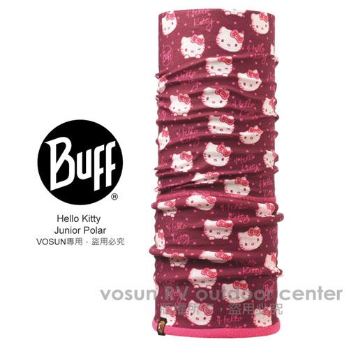 【西班牙 BUFF】HELLO KITTY 超彈性超細纖維保暖頭巾_擠眉弄眼 111068