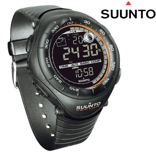 【SUUNTO】VECTOR X-Black 天行者極限運動登山錶.電腦錶.高度 氣壓 指北針/黑橘 SS012279110